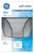65 Watt R30 Indoor Reflector Floodlight Soft White 2 Pack