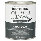 Charcoal Chalked Paint, 30 Oz.