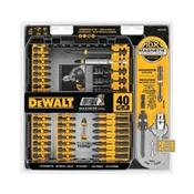 DeWALT DWA2T40IR Screwdriver Bit Set, Steel, For Drilling and Driving