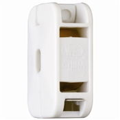 White 10 Amp 125 Volt In-Line Outlet