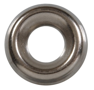"1/4"" Stainless Steel Finish Washer"