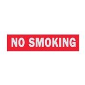 SIGN NO SMOKING 2X8IN ALUMINUM