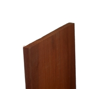 "1x4-16' (Actual: 3/4""x3-1/2"") Merch Redwood Expansion Joint"