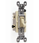 Ivory 15 Amp 120 Volt 3-Way Toggle Switch