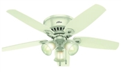 Ceiling Fan, 120 V, 3-Speed, 5-Blade, 52 In