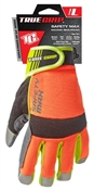 Large, Hi Viz, High Performance, Safety Max, Work Gloves