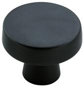 1-5/16 in (33 mm) Diameter Knob - Black Bronze