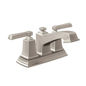 Boardwalk Spot Resist 2 Handle Bathroom Faucet, Brushed Nickel