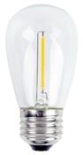 Globe, 2 Pack, 1W, Amber, LED Bulb