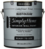 Simply Home Lakefront Blue Interior Wall Paint