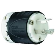 Black 30 Amp 125 Volt 3 Wire Plug
