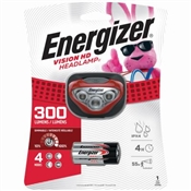 Energizer Bright 300 Lumen Led Headlamp With Adjustable Strap And 3 Aaa Batteries Included