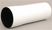 """4"""" x 10' Polyethylene Sewer & Drain  Black Lined Solid Pipe"""