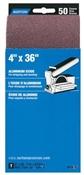 "4"" x 36"" 50 Grit Aluminum Oxide Sanding Belt"