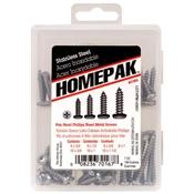 HOMEPAK PHP Stainless Steel Sheet Metal Screws Assortment