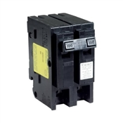 Square D Homeline HOM2100CP Miniature Circuit Breaker, 120/240 V, Fixed Trip, Plug-In Mounting