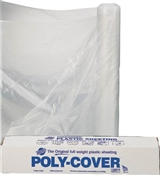 "32"" x 100' Poly Film 6Mil Clear"