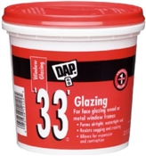 Glazing Compound White 1 Pint