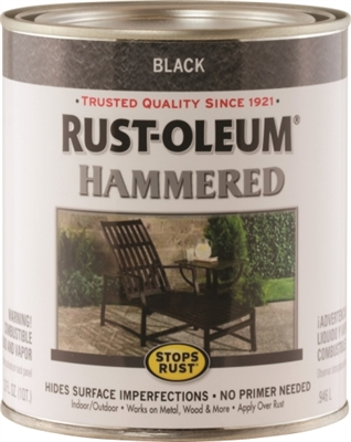 Shop Rustoleum Stops Rust Oil Based Rust Preventive Paint, 1 Qt Can