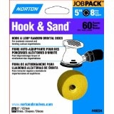 "5"" 60 Grit Hook & Loop Sanding Disc - 25 Pack"