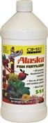 Lilly Miller Alaska Fish Emulsion Fertilizer, 32 Oz, Brown, Liquid