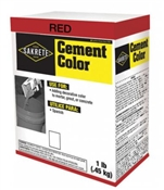 Cement Color Red 1 LB