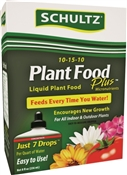 Schultz SPF45170 Plant Food, 8 oz Bottle