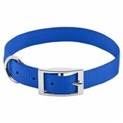 "Pet Expert Dog Collar, Blue, 1"" x 19-22"""