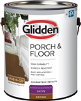 Interior/Exterior Satin Porch & Floor, Brown, 1 Gallon