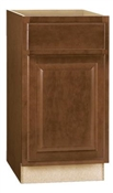 "18""W x 34-1/2""H x 24""D Base Cabinet Cafe Finish"