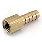"3/8x1/4"" Barbed Brass Female Adapter"