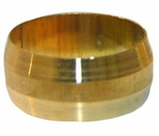 "2 Pc 3/8"" Brass Compression Sleeve"