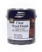 Clear Wood Finish Semi-Gloss 1 Gallon