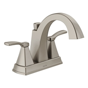 Flynn 2 Handle Centerset Bathroom Faucet, Brushed Nickel