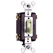 Almond 15 Amp 120 Volt 4-Way Toggle Switch