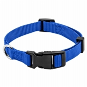 "Pet Expert Adjustable Dog Collar, Blue, 5/8"" x 10-16"""