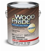 Wood Pride Stain Satin Clear Base 1 Gallon