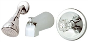 Single Handle Tub & Shower Faucet, Chrome
