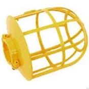 Yellow Plastic Bulb Guard