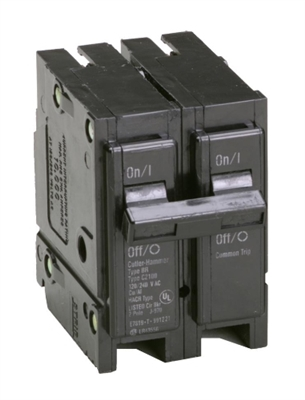 70 Amp 2-Pole Type BR Circuit Breaker BR270