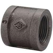 "3/8"" Black Malleable Coupling"