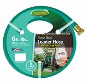 "Green Thumb 887-6 Hose Reel Leader Hose, 6' x 5/8"""