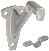 Handrail Bracket, Satin Nickel, 2 Piece