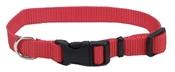 "3/8"" Red Adjustable Nylon Collar, 8""-12"""