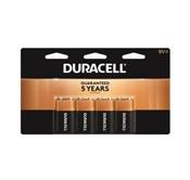 Duracell Alkaline Battery, 9 V, Manganese Dioxide