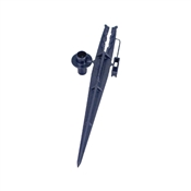 Rain Bird TS25/10PS Tubing Stake with Bug Guard, 1/4 in Dia, Plastic