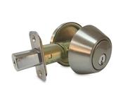 Deadbolt Single Cylinder Truguard G3, Satin Nickel