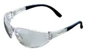 Contoured Safety Glasses Clear Lens