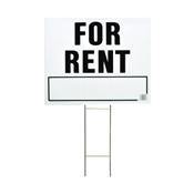 LAWN SIGN FOR RENT 20X24IN