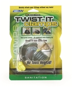 "3"" RV Sewer Hose Twist It Clamp"